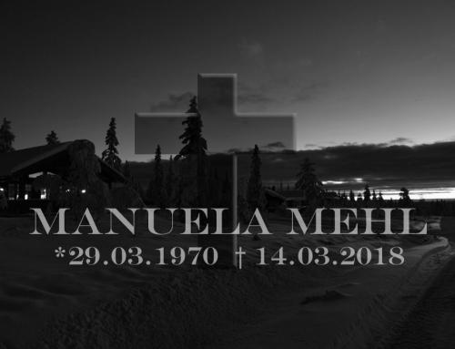 Manuela Mehl plötzlich verstorben