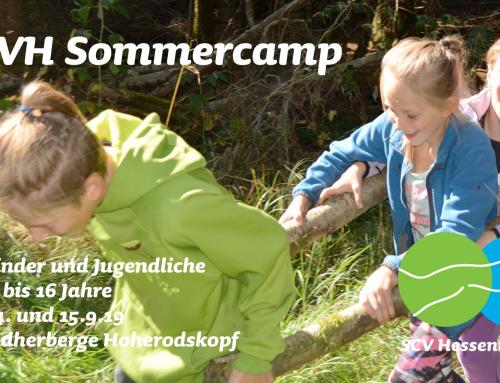 Sommercamp des SCVH für Kinder und Jugendliche 14. – 15.9.2019