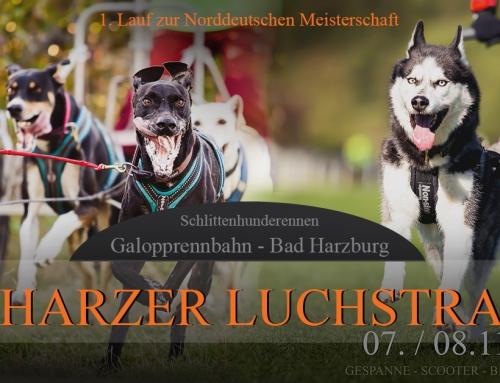 Ausschreibung zum 2. Harzer Luchstrail des NSSV in Bad Harzburg am 07.+08.11.2020