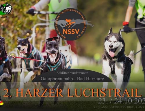 Ausschreibung zum 2. Harzer Luchstrail des NSSV in Bad Harzburg am 23.+24.10.2021