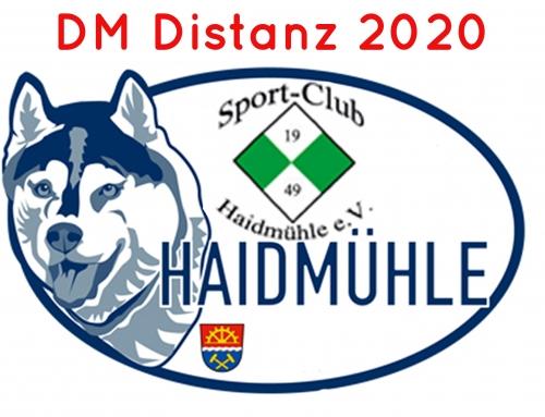 Ausschreibung DM Distanz 2020 Haidmühle