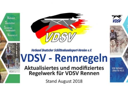 Rennausschreibungen der VDSV Rennen